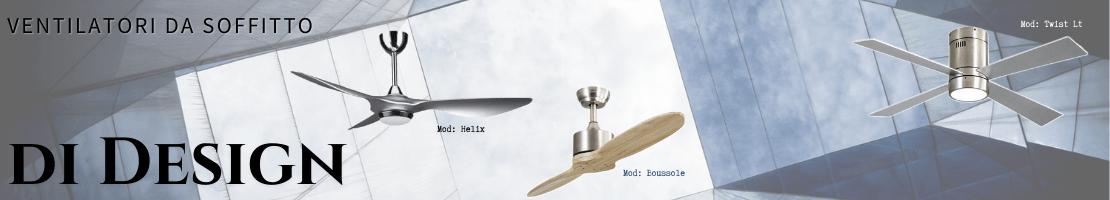 Ventilatori da soffitto di Design. Rinfrescare la vostra casa con stile!