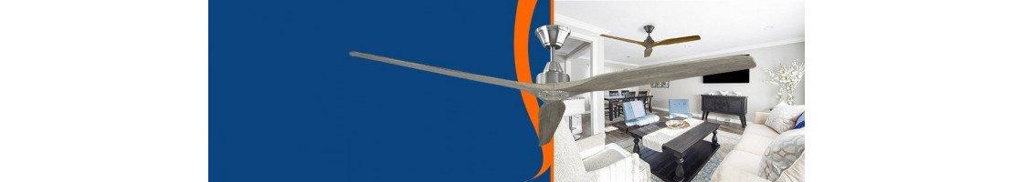 Ventilatori da soffitto con pale in legno.  Eleganti ed efficienti - Fan Boutique.