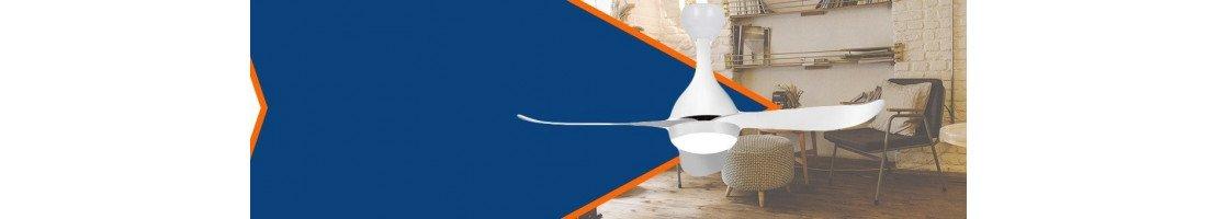 Ventilatori da soffitto con luce LED │ Fan Boutique.